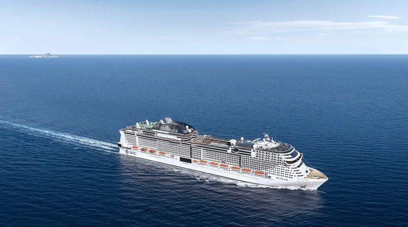 cruzeiro no mar
