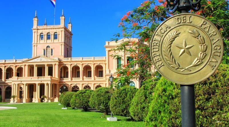 prédio histórico no Paraguai