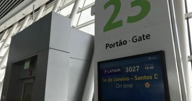 painel de aeroporto