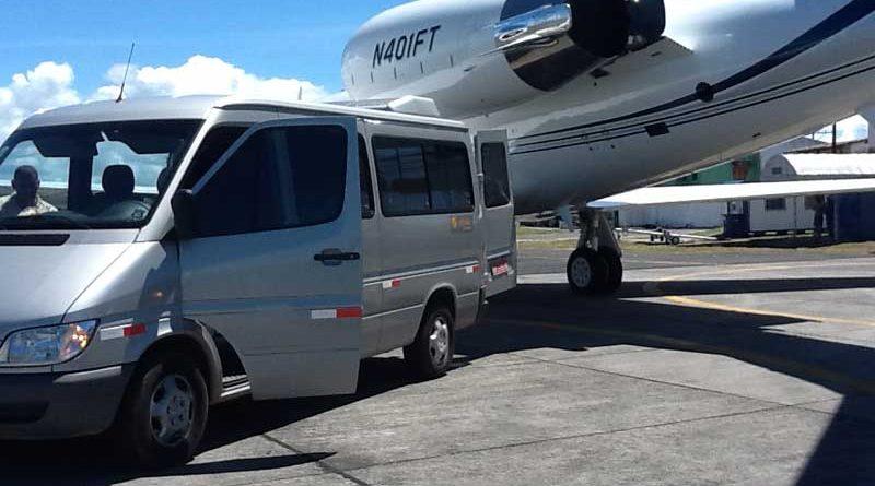 transporte em aeroporto