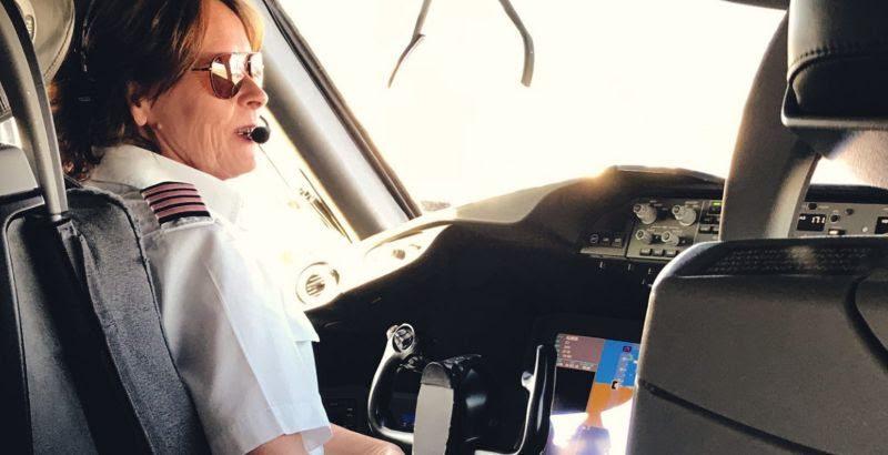 pilota de avião